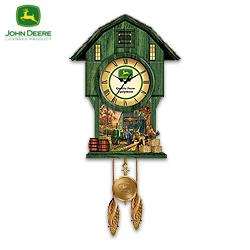 John Deere Cuckoo Clock