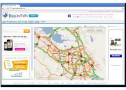 Beat the Traffic Beta Maps