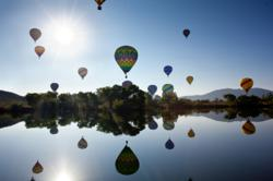 Morning Hot Air Balloon Launch in Temecula