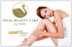 Total Beauty Care by Silde now offers  laser hair removal services using it's new LightSheer  device.
