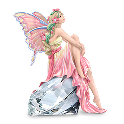 Breast Cancer Awareness Fairy Figurine