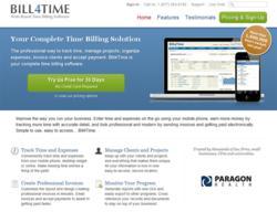 Bill4Time web based time billing software