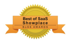 Smartsheet Best of SaaS Showplace Award