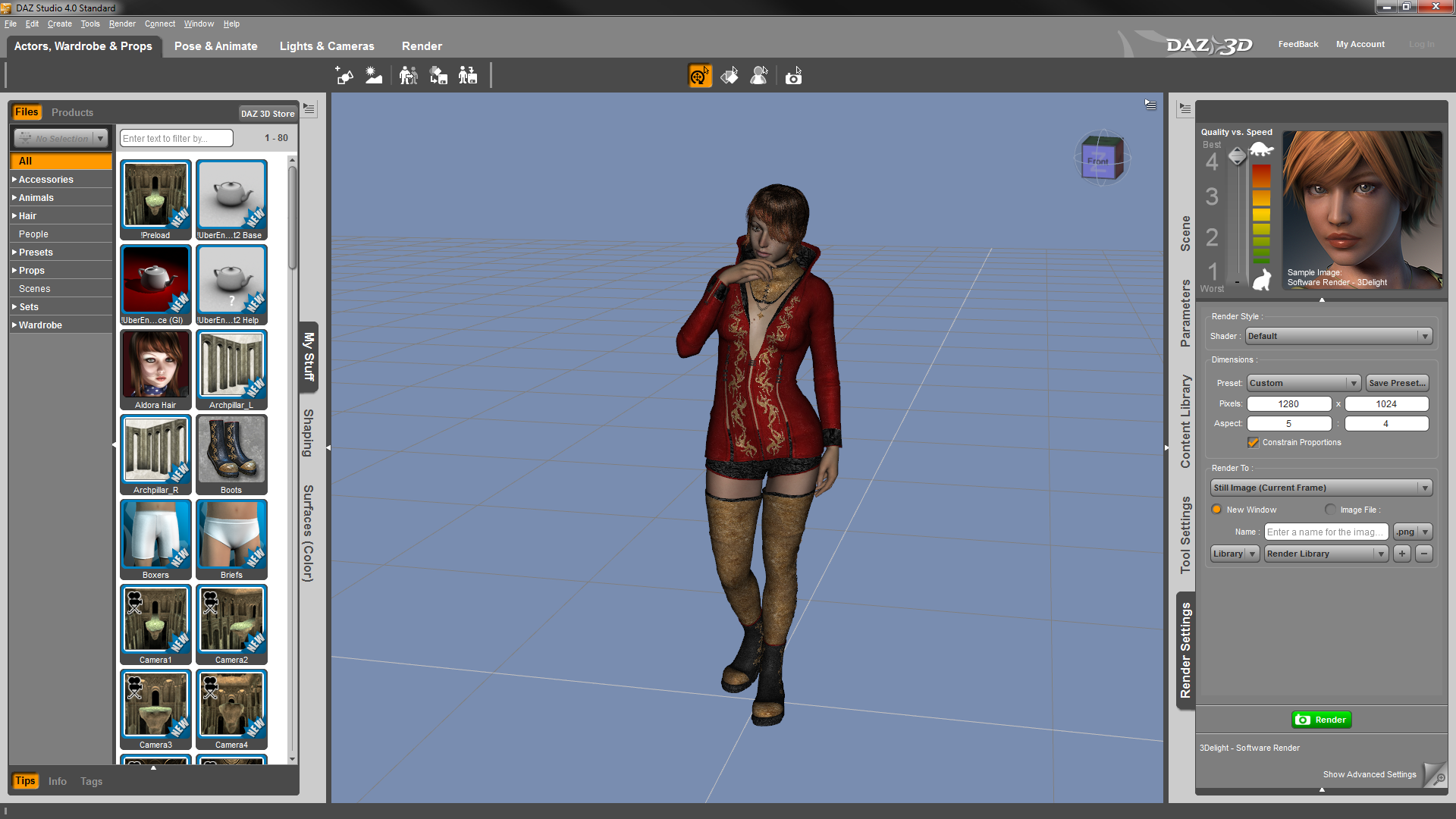 Daz 3d Releases Daz Studio 4 For Hobbyists And Professionals