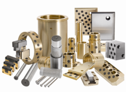 Mold and die components: wear plates, wear strips, bushings, pins, parting line components, ball bearing components, etc.