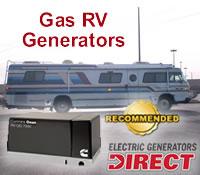 Top Gas RV Generators @ Generators Direct