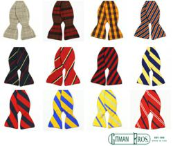 Gitman Bows - Bow ties in assorted colors and styles