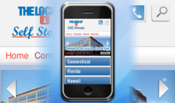 The Lock Up Self Storage Mobile Web Debut