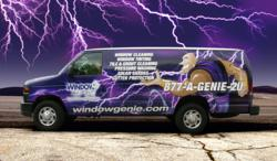 Official GENIEMOBILE for Window Genie franchise