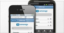 SAManage mobile works with any device