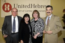 United Hebrew of New Rochelle Presented Awards to Three leading healthcare organizations at a special ceremony