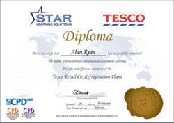 food handler certificate application form