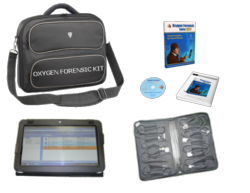 Oxygen Forensic Kit - affordable hardware-software solution for in-field data acquisition and analysis
