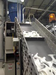 Modular Conveyor System at Rexam plant