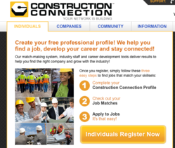 ConstructionConnection.com Website