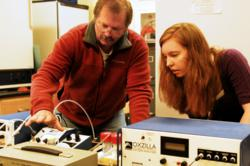 A NASA grant is allowing George Fox's Don Powers and students to pursue research on climate change.