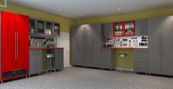 garage cabinets, garage organizers, garage systems, garage design
