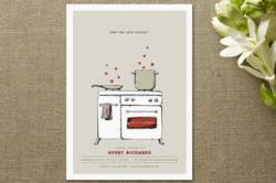 First place winner of Minted's February Showers Design Challenge