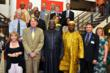 Front row, L to R: Ann Gloag, International Board Member; Peter Schulze, Managing Director International Operations Center; His Excellency Dr. Ernest Bai Koroma, President of Sierra Leone; Chief Sahr