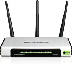The TP-LINK Ultimate Wireless N Gigabit Router is great for dads or grads need a reliable wireless Internet connection.