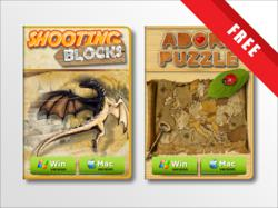 "The Mac Version AdoreStudio's games - ""Shooting Blocks"" and ""Adore Puzzle"""