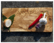 Personalised Olivewood Bread & Chopping Board