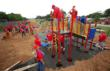 Playgrounds increase sense of family well being