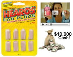 Hearos.com $10K Ear Plug Video Contest
