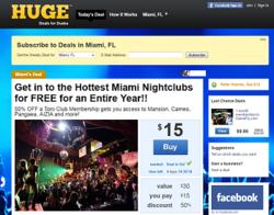 Huge.com offers deals for guys.