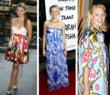 Hollywood stars in ikat dresses