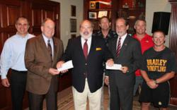 W. Allan Jones donates donates money to finish state-of-the-art wrestling facilities in Cleveland, TN