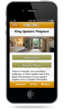 Vintners Inn Mobile App Pages