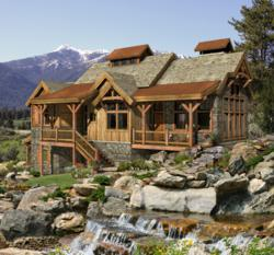 Custom Mountain Style Timber Home