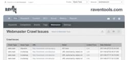 Raven Integrates Google Webmaster Tools