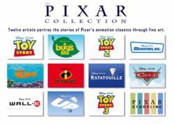 The Disney Pixar Fine Art Collection