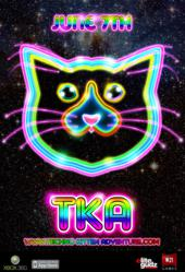 Promo Poster for Techno Kitten Adventure
