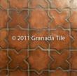 cement tile, concrete tile, leathered tile, old world tile, hacienda tile