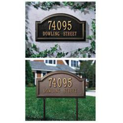 Whitehall Providence Arch Address Plaque