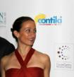 Celine Cousteau greeting guests at The Ocean Inspiration gala - NY