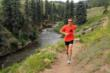 Running in Pagosa Springs, Colo.