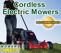 electric mower, cordless mower, electric mowers, cordless lawn mowers