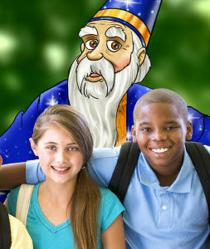 Kids team with Wyatt the Wise Wizard this Summer to Learn over 25 Critical Life Skills with the Adventures in Wisdom Life Coaching Program for Kids