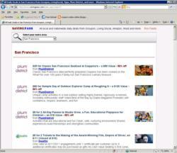 SavingPass.com - Daily-Deal Integrator for Groupon, LivingSocial, Tippr, BuyWithMe, PlumDistrict