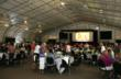 The nightly dinners in the CasaBlanca Event Center proved to be wildly popular.