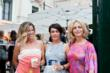 Marina Snow and Marzia Cervellin of Eve Italia; Jacqueline Miro, Co-Curator, Venice in Venice Photo courtesy of Angela Colonna and Stefano Ferrando