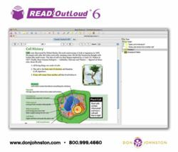 Product Screen Shot of eText Reader