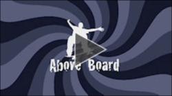 Logo for the AboveBoard Skateboard monthly Webisode