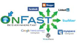 OnFast provides Social Network Marketing Dashboards, Painless Blogging, Social Coupons and Facebook Apps.