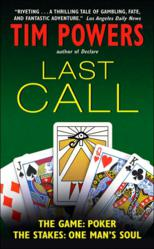 """Tim Powers: """"Last Call"""" Book Cover"""