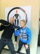Founder Cosmo Raines with Trainer Britny Fowler from A&E TV Show HEAVY